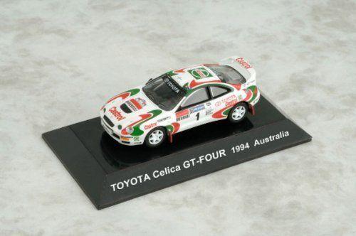 Japan CM's 1/64 Rally Car Collection SS12 TOYOTA Celica GT-FOUR No. 1 Australia 1994 Die-cast Figure