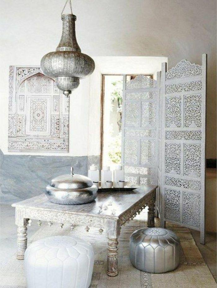 silberne orientalische lampen