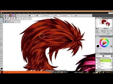 SPEEDPAINT # 1 (cabello basico) - YouTube