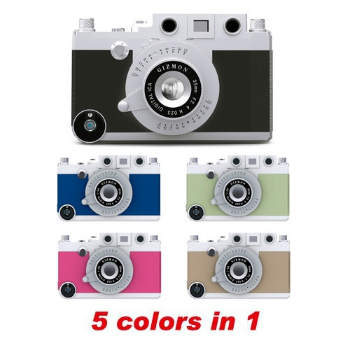 Four Corner Store : Your store for all things Toy Camera — Gizmon iCa Deluxe Edition: Iphone Cases, Toys Camera, Gizmon Ica, Things Toys, Ica Delux, Camera Envi, Camera Cases, Delux Editing, Corner Stores