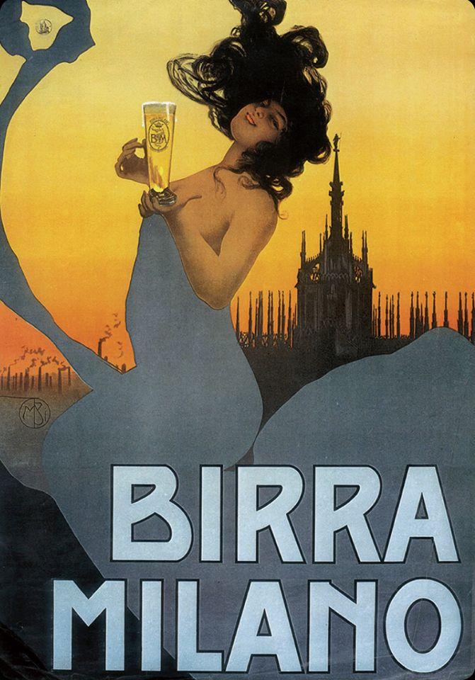 Mario Borgoni, Birra Milano, c. 1920