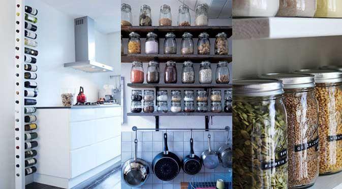 Pas toujours facile de tout ranger dans une petite cuisine for Astuce rangement placard cuisine