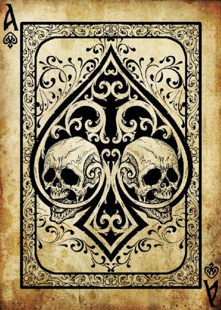 Skulls:  Ace of #Skulls.