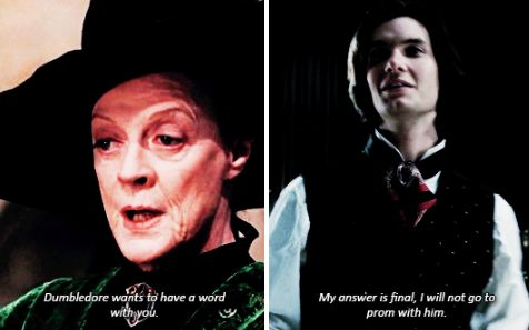 sirius black and mcgonagall :)