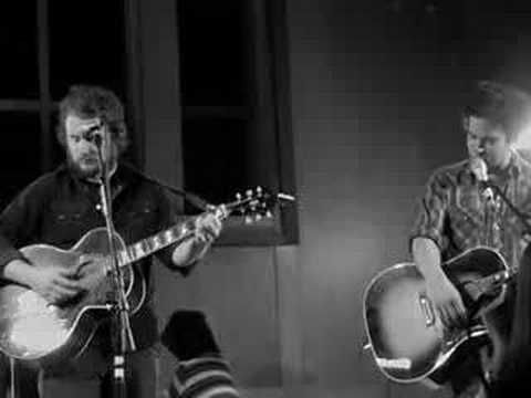 If church was like this I'd be going every Sunday.  (Jim James and M. Ward)
