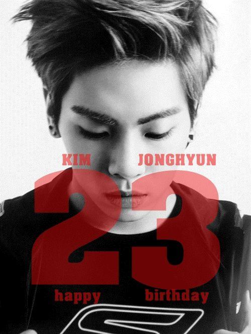Happy Birthday Jonghyun♡