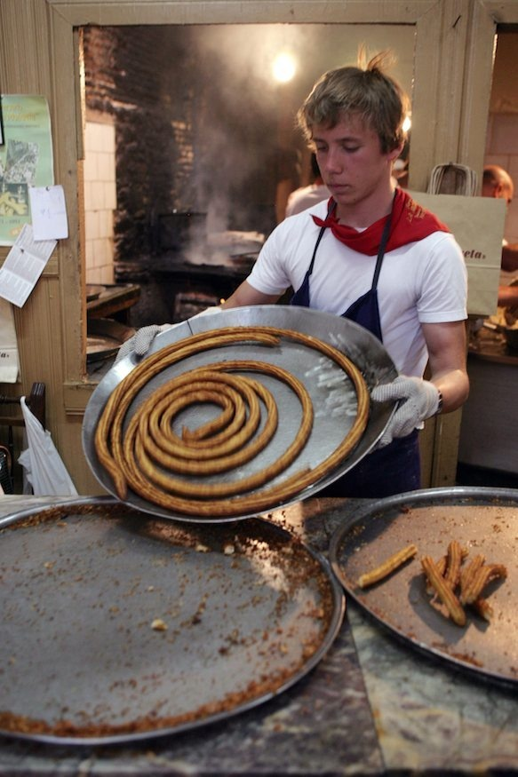 This chucherrio is only open two Saturdays in June, during the San Fermín festival in July, and Sundays in October. Now that is a food pilgrimage.