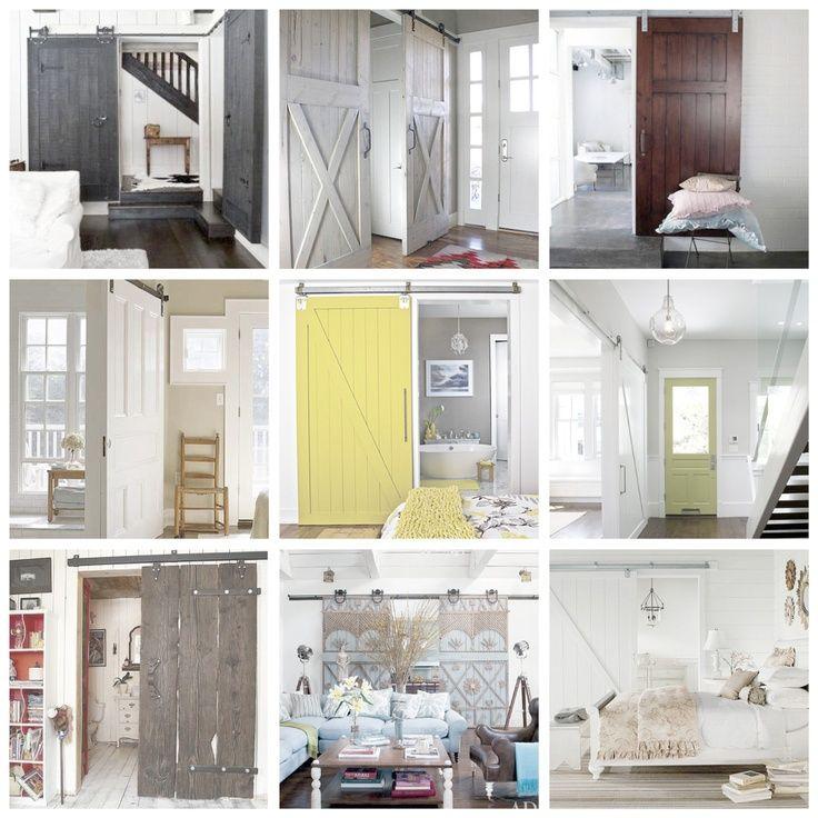 sliding barn doors for homes sliding interior barn doors
