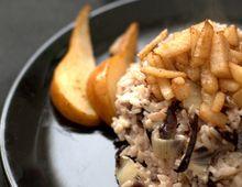 #Risotto con radicchio, pere e cannella: la ricetta