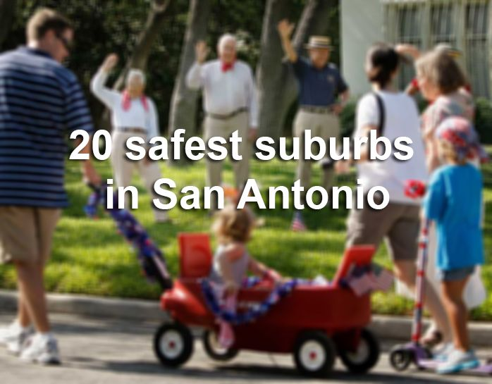 """San Antonio suburbs like Fair Oaks Ranch, Cibolo and Shavano Park are usually in the """"safest areas of the city"""" conversation, but which local area is, statistically speaking, the safest?"""
