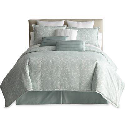 Mint comforter - JCPenney