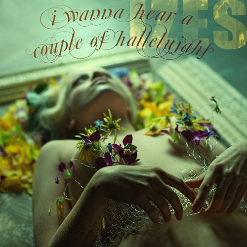 I wanna hear a couple of hallelujahs EP photo: Christian Martin Weiss Photography Make up Magda Purchla Face Art  Stylist Katarzyna Tkaczewska Zielone Studio