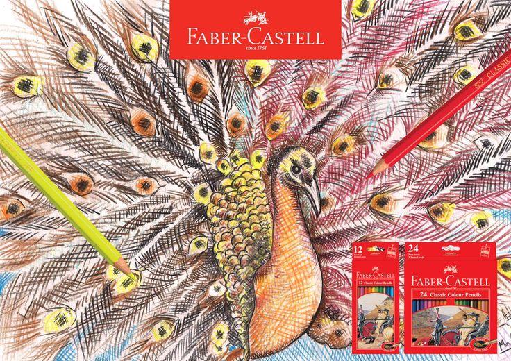 Paradise-Classic Colour Pencils Faber-Castell