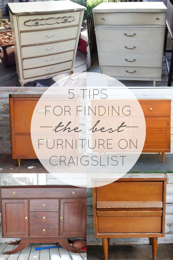 best furniture images. 5 tips for finding the best furniture on craigslist images n