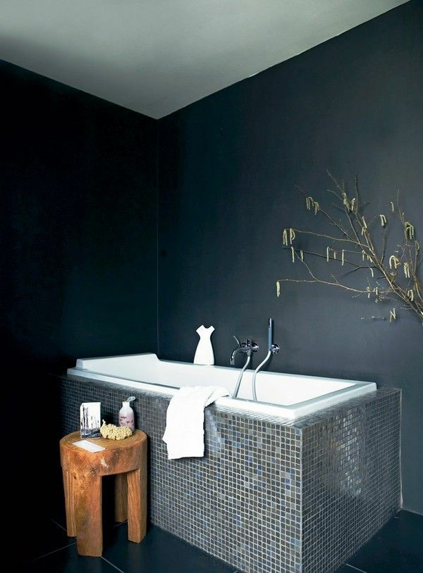 Die 25+ besten Dunkle badezimmer Ideen auf Pinterest | Schiefer ...