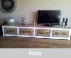 Steigerhout tv-meubel Ilaria