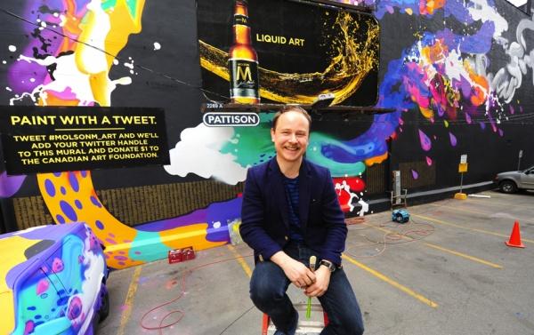 mural artis Kustaa Saksi via @torontostandard