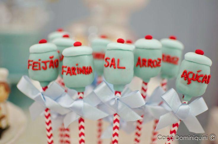 Pati Fernandes - Confeitaria Artística: Festa Petit Chef ( Mini Chef)