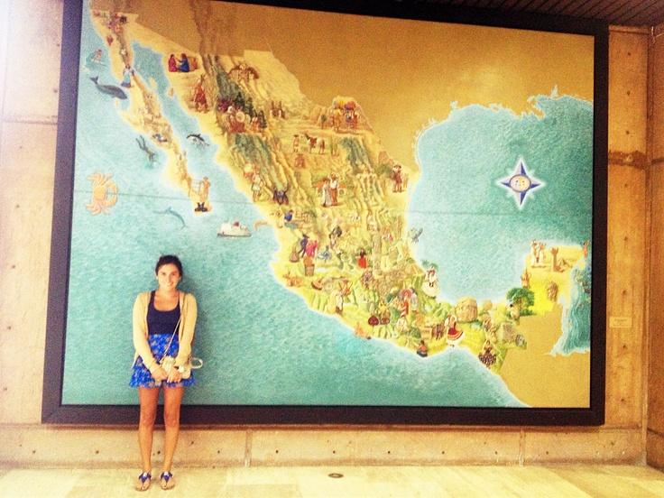#Tijuana #Mapa de la #RepublicaMexicana  por #SaulMartinez