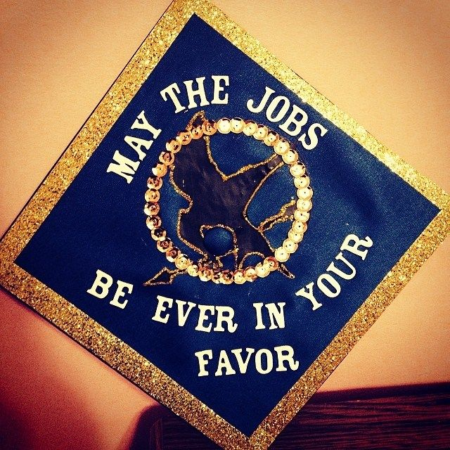 My graduation cap! My obsession with Hunger Games is getting out of control but this is perfect! #hungergames #graduation #gvsu