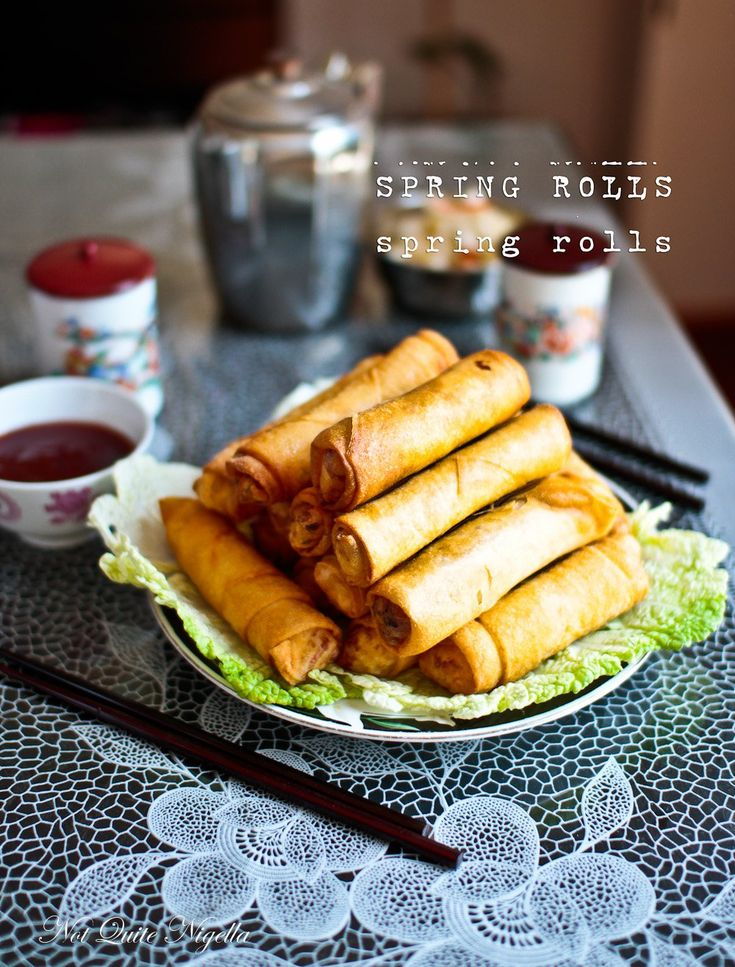 A Dear Reader Request: My Mother's Spring Rolls!