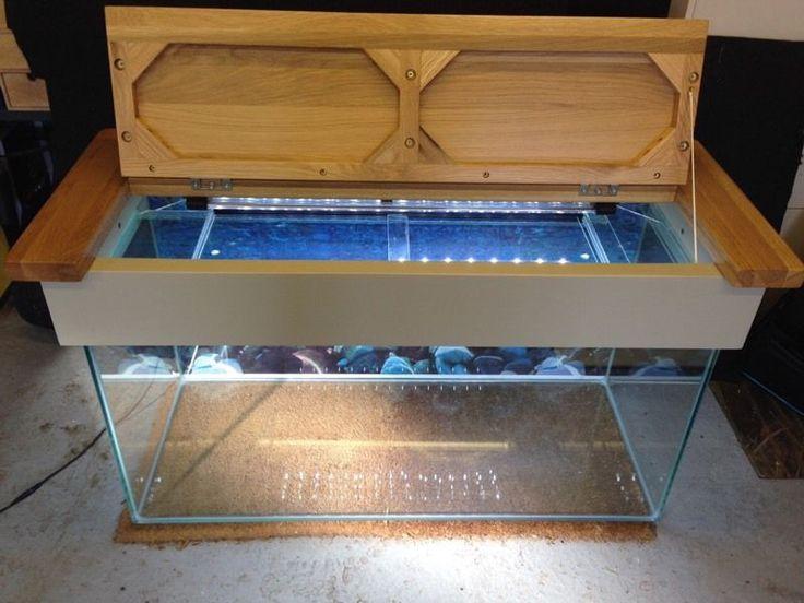 stunning-wooden-top-aquarium-fish-tank-equipment-amp-accessories Aquarium Stand teetotal fish tank coffee table