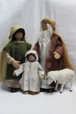 Rosis kreative Werke: Bibelfiguren