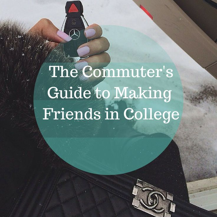 Sweet, Short & Stylish : The Commuter's Guide to Making Friends in College