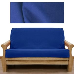 colonial blue twill futon cover and sofa sleeper 24 best something blue   blue furniture and futon covers images on      rh   pinterest