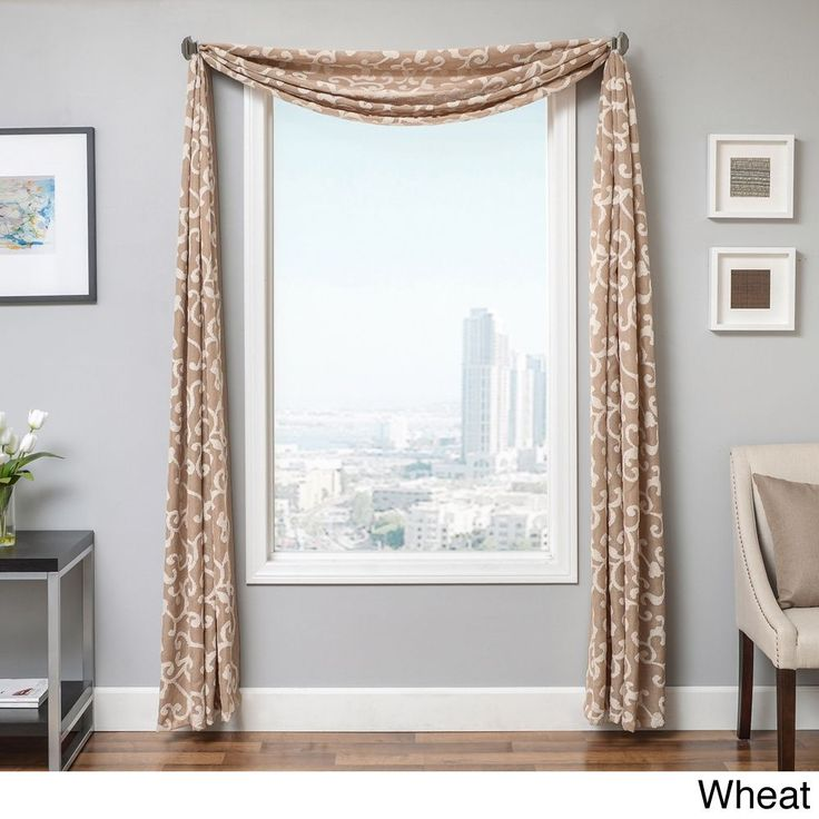 Best 25 Window Scarf Ideas On Pinterest Curtain Scarf