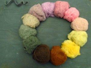 Mushroom dyes... This looks interesting