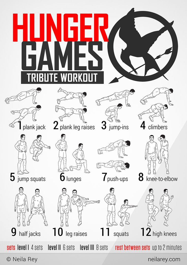 Hunger Games Tribute Workout