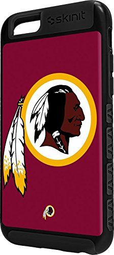 NFL Washington Redskins iPhone 6 Cargo Case - Washington Redskins Large Logo Cargo Case For Your iPhone 6. Built To Last - Tough iPhone 6 Cargo Case Made With A Double Layer Hard Shell & Rubber Liner Protection. Offically Licensed Washington Redskins Case Design. Industry Leading Vivid Color Vinyl Print Technology. Textured Sidewalls - For Added Comfort & Enhanced iPhone 6 Grip. Precision iPhone 6 Fit - Increasing Protection Without Sacrificing Function.