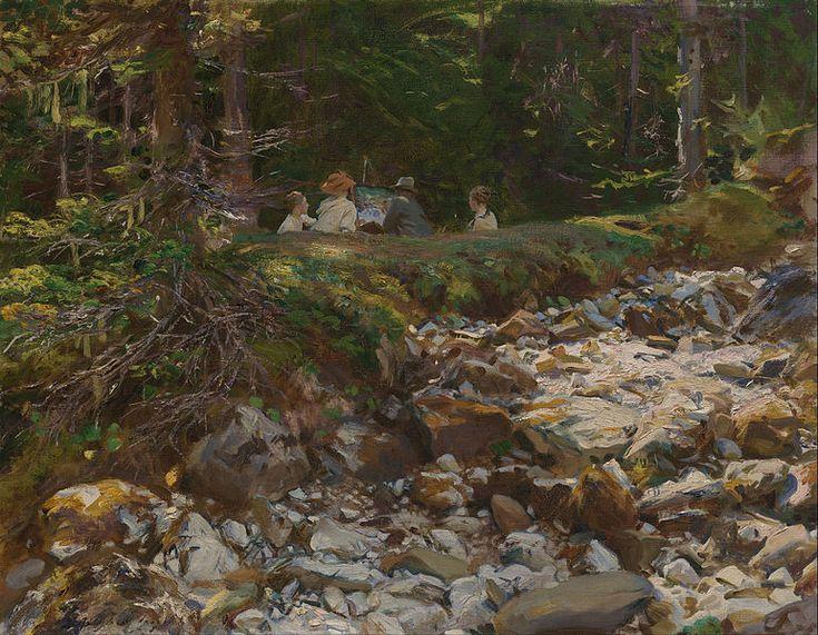 Notícias da história da arte: John Singer Sargent Watercolours