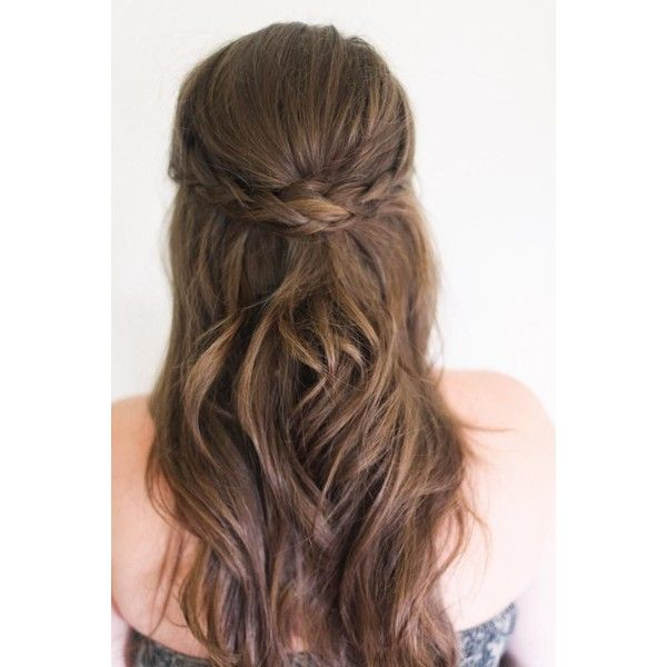 Semirecogidos para bodas y fiestas Cocktail de mariposas ❤ liked on Polyvore featuring beauty products, haircare, hair styling tools, hair, hairstyles, beauty, cabelo, hair style and bodas