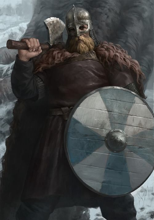 This is what a typical viking warrior looked like in Norse Mythology. These great warriors are often described as fearless and powerful.