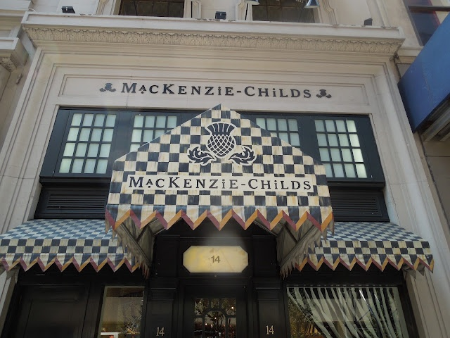 This is my great aunt's famous store on Madison Avenue, NY! It is absolutely beautiful inside and out.     mackenzie-childs ny