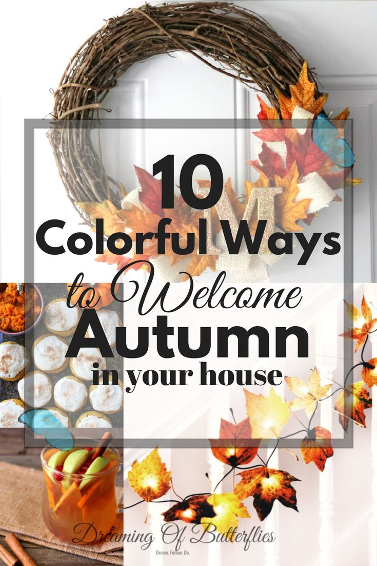 I don't know about you, but we LOVE Autumn, of Fall, whatever you like to call it! Because we always think it's a good idea to bring some color into your home, and Fall is the perfect time to do it, here are 10 colorful ways to welcome Autumn in your house!