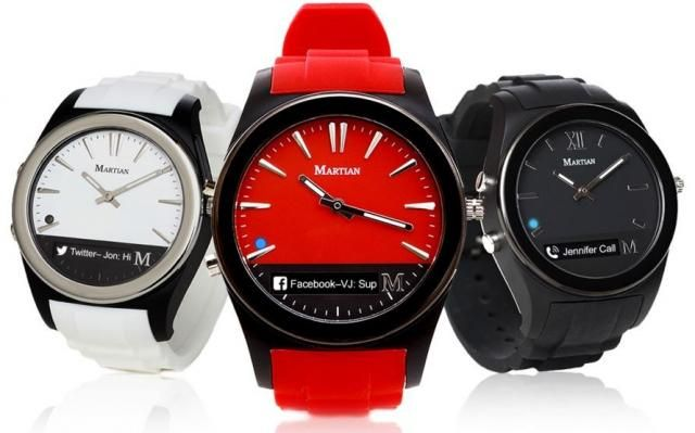 Deal: Martian Notifier Smartwatch only $29.99
