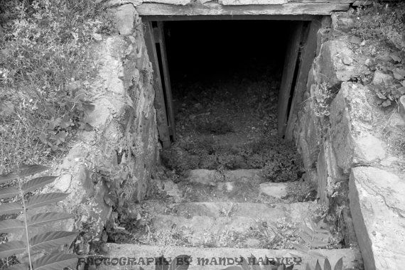 The Entrance Under An Old Barn Goulburn New South Wales