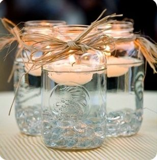 mason jar crafts - Click image to find more weddings Pinterest pins