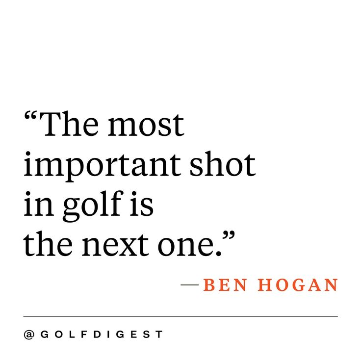 Inspirational Golf Quotes Amazing Best 25 Inspirational Golf Quotes Ideas On Pinterest  Golf