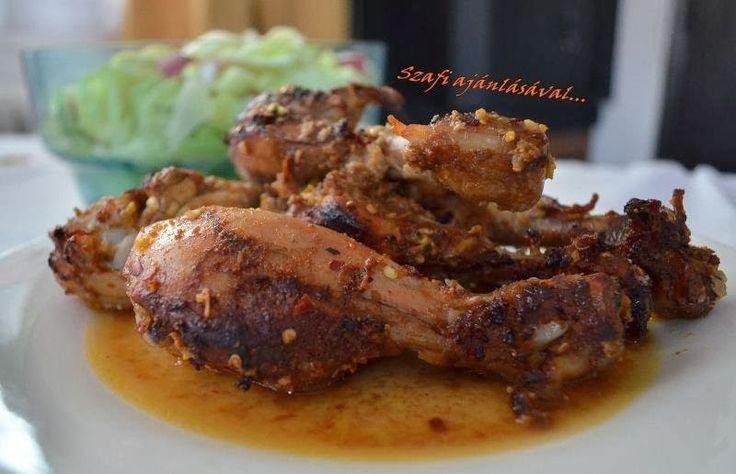 Éhezésmentes Karcsúság Szafival: Gyömbéres, narancsos sült csirkecombok (paleo ebéd recept)