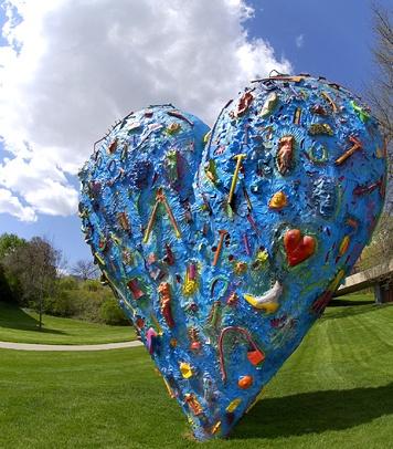 Jim Dine, Techo Color Heart