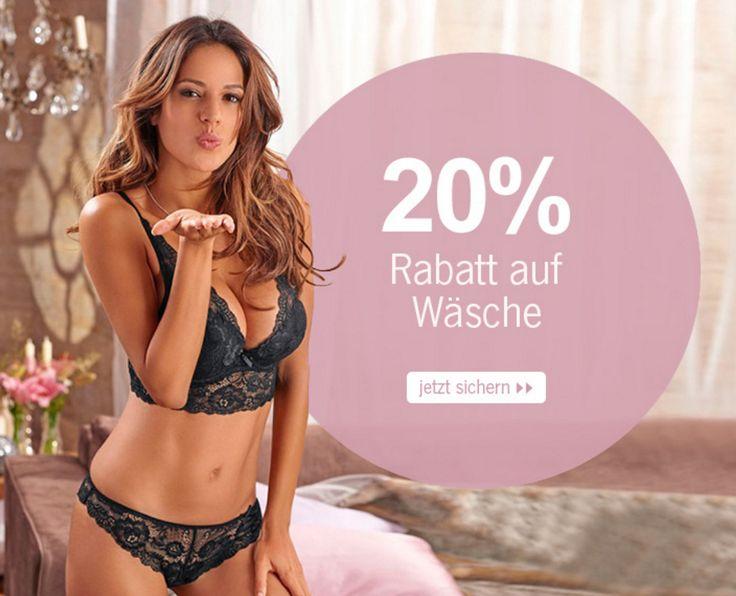Jetzt heißt es schnell sein! Noch bis morgen könnt Ihr mit dem Code 12750 #Damenwäsche #günstig bestellen.