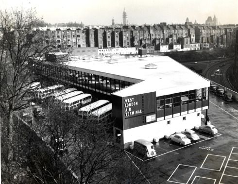 Forgotten buildings: the West London Air Terminal   The Library Time Machine
