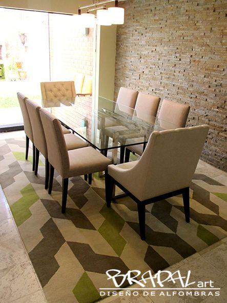 Las 25 mejores ideas sobre alfombras hechas a mano en - Alfombras de sala modernas ...