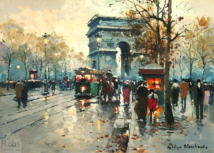 """Arc de Triomphe"" by Antoine Blanchard (unknown)"