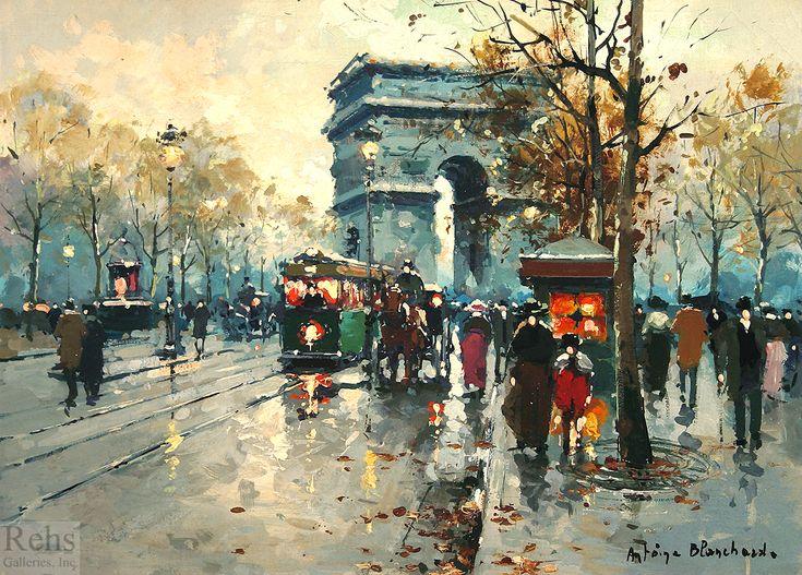 """Arc de Triomphe"" by Antoine Blanchard (unknown)"