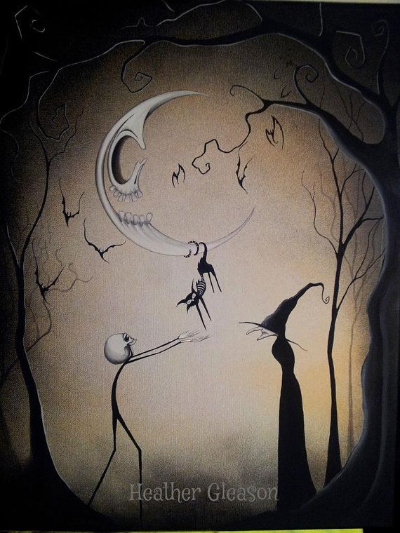 25 best ideas about halloween art on pinterest for Gothic painting ideas
